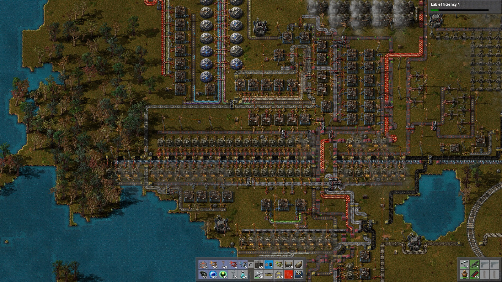 A very compact factory