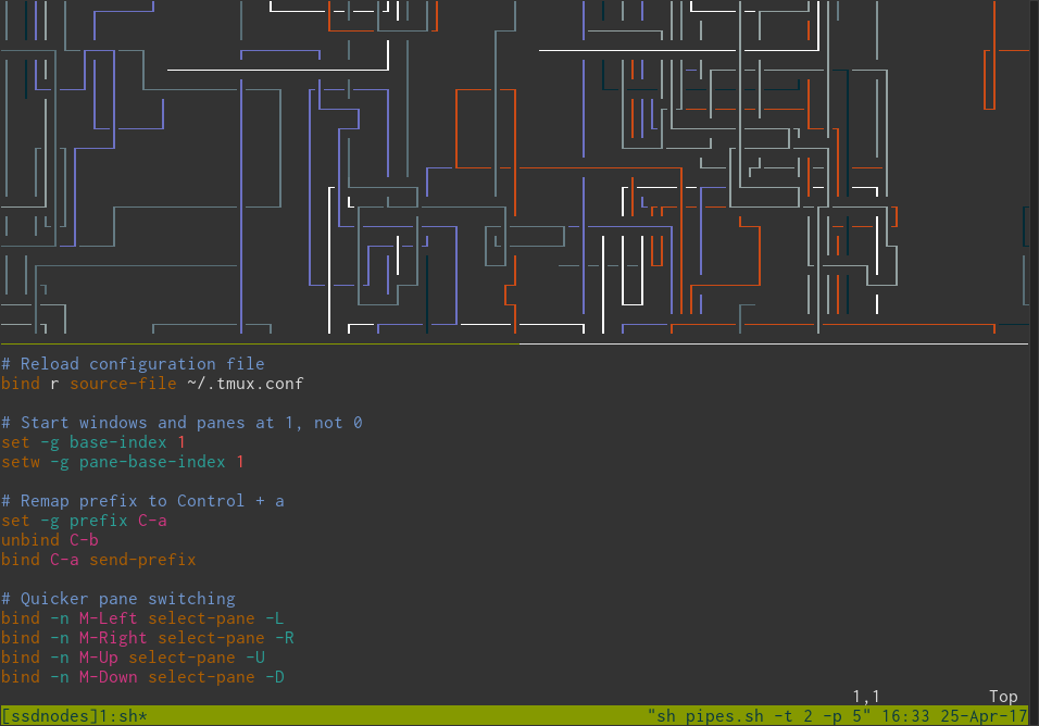 Tutorial: Get More From Terminals With tmux | Serverwise