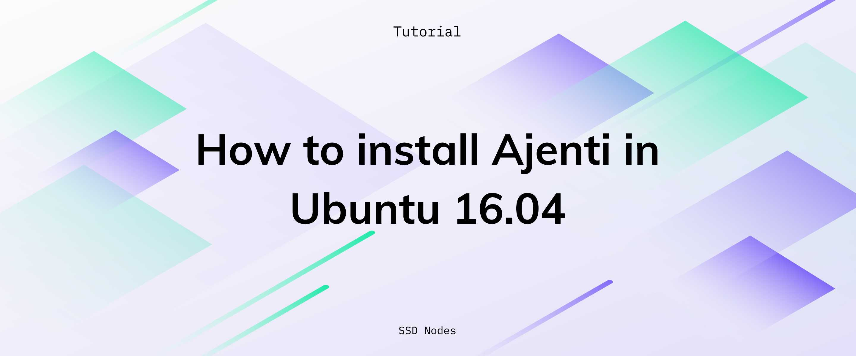 How to install Ajenti (cPanel alternative) in Ubuntu 16 04