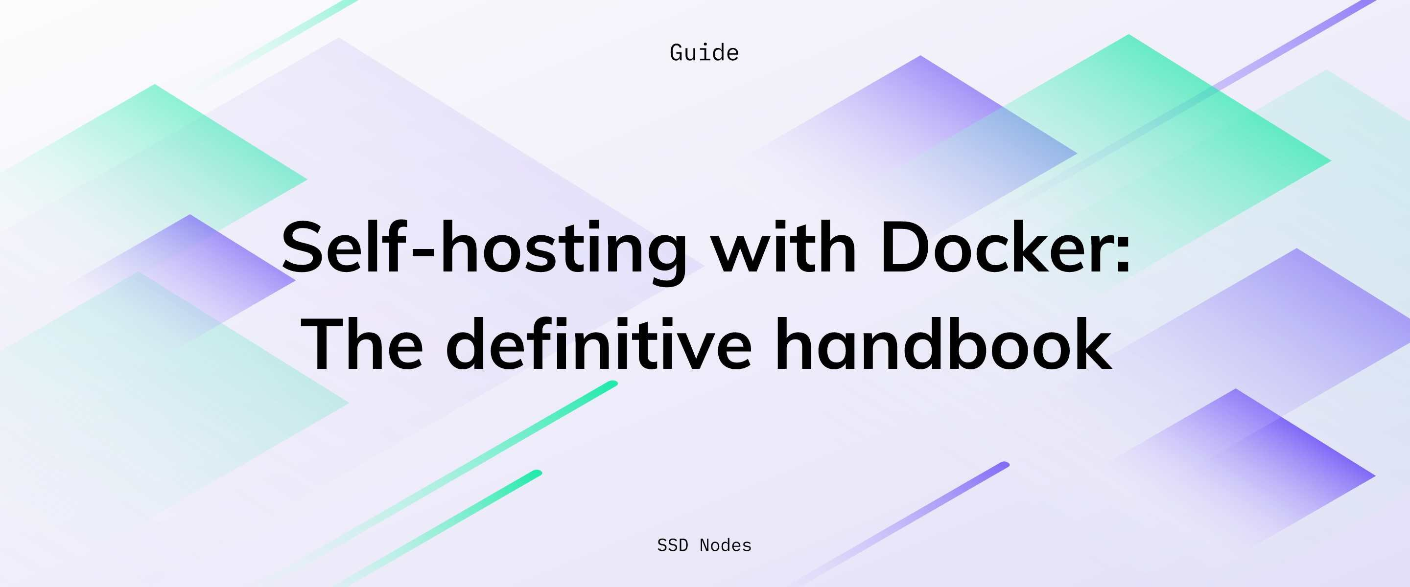 Self-hosting guide