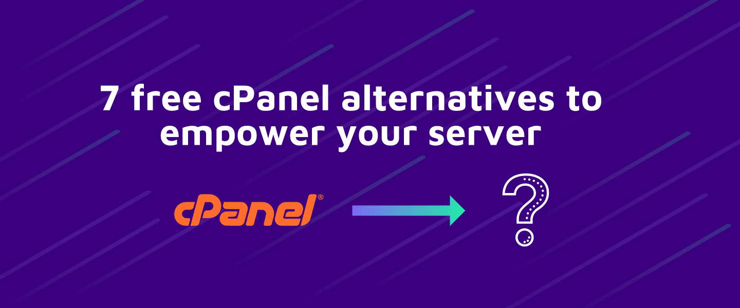 7 free cPanel alternatives