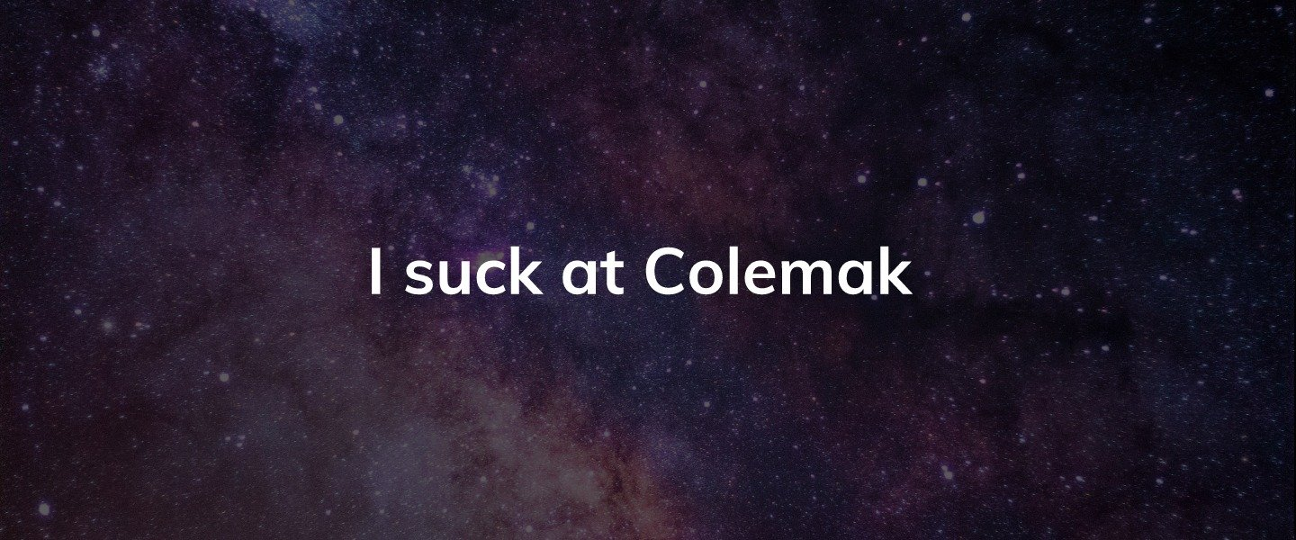 Rewiring my brain and business with Colemak