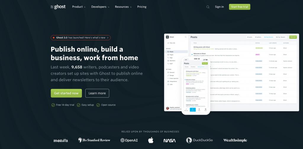 ghost.org-blogging-platform