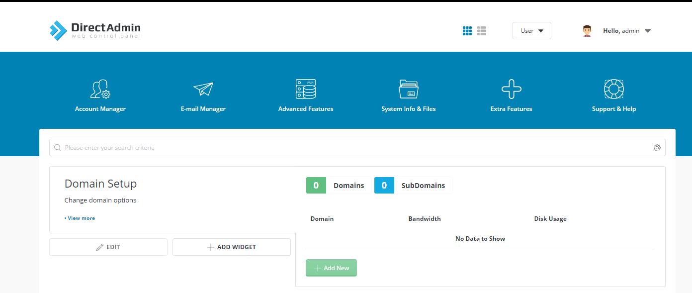 directadmin-add-new-domain